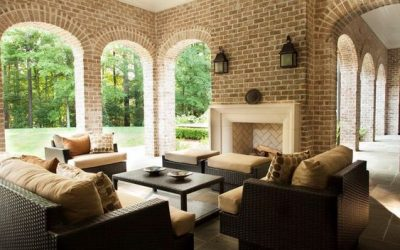 Outdoor Living Inspiration with Brick