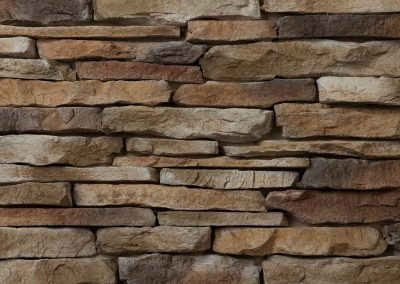 Ledgestone Series Stone in Pecan