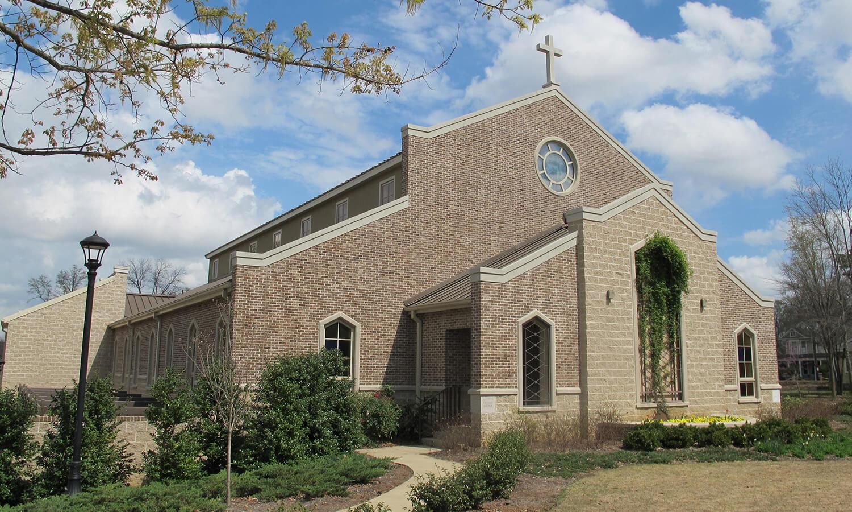 Charleston Brick on a Church
