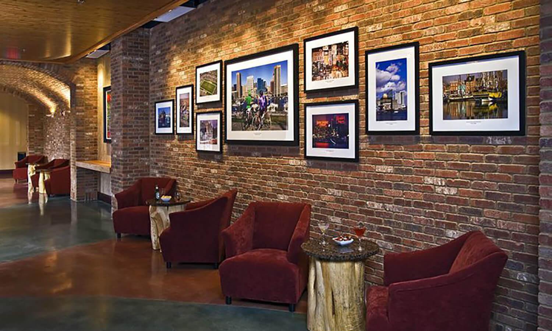 English Pub Brick - Baltimore Fairfield Inn