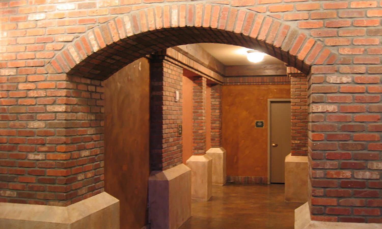 English Pub Brick Archways