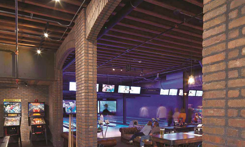 Peppermill Brick - Bowling Alley