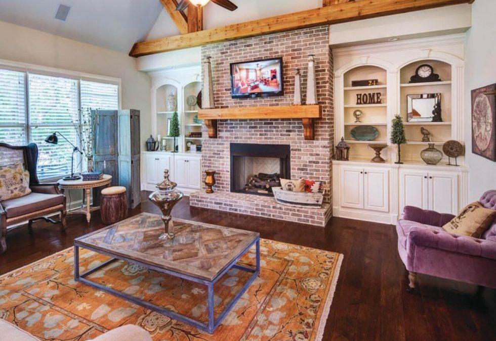 Cozy Brick Fireplace Ideas