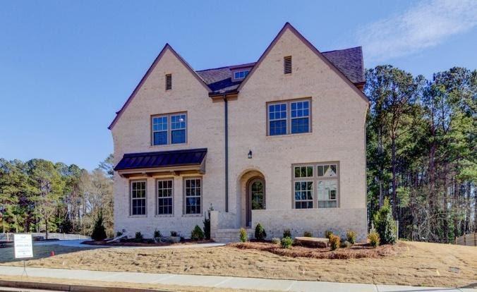 Gorgeous brick home exterior